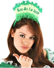 Picture of Kiss Me Im Irish Headband
