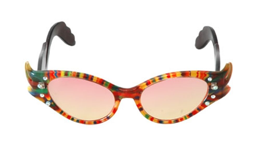 Picture of Feather Frame Rainbow Glasses