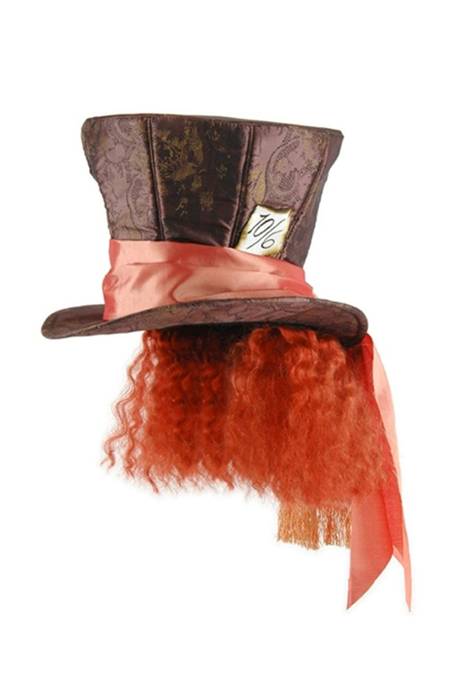 Picture of Mad Hatter Hat with Hair