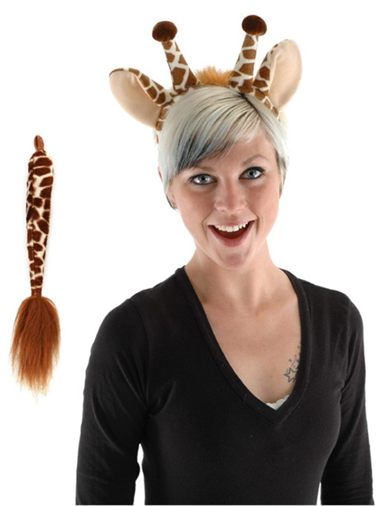 Picture of Giraffe Ears and Tail Set