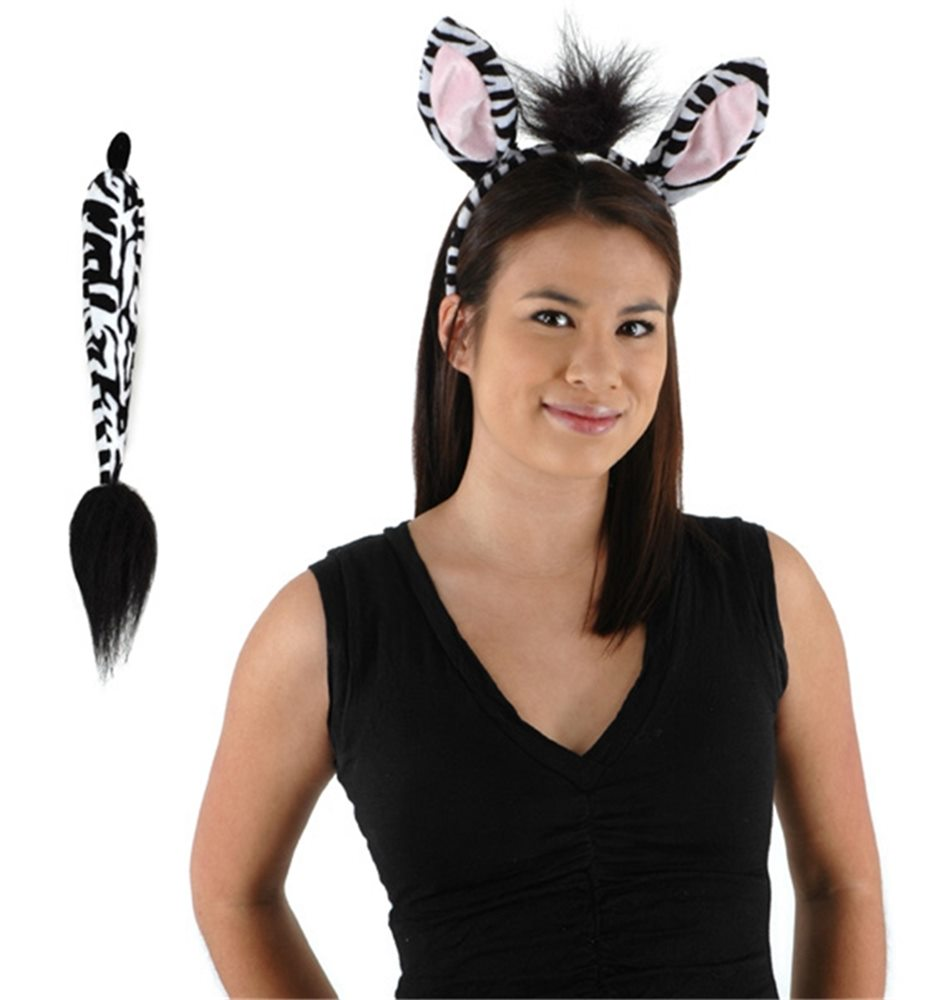 Picture of Zebra Ears and Tail Set