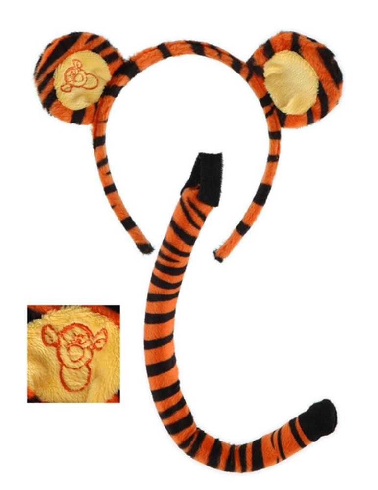 Picture of Tigger Ears and Tail Set
