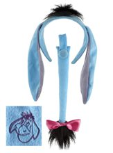 Picture of Eeyore Ears and Tail Set