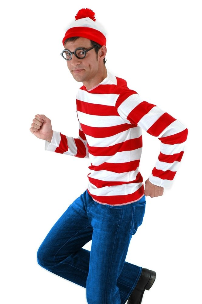 Picture of Where's Waldo Adult Mens Costume