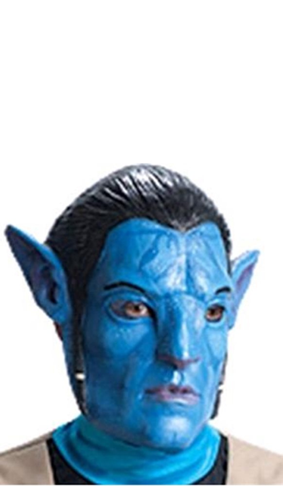 Picture of Avatar Jake Sully 3/4 Vinyl Adult Mask