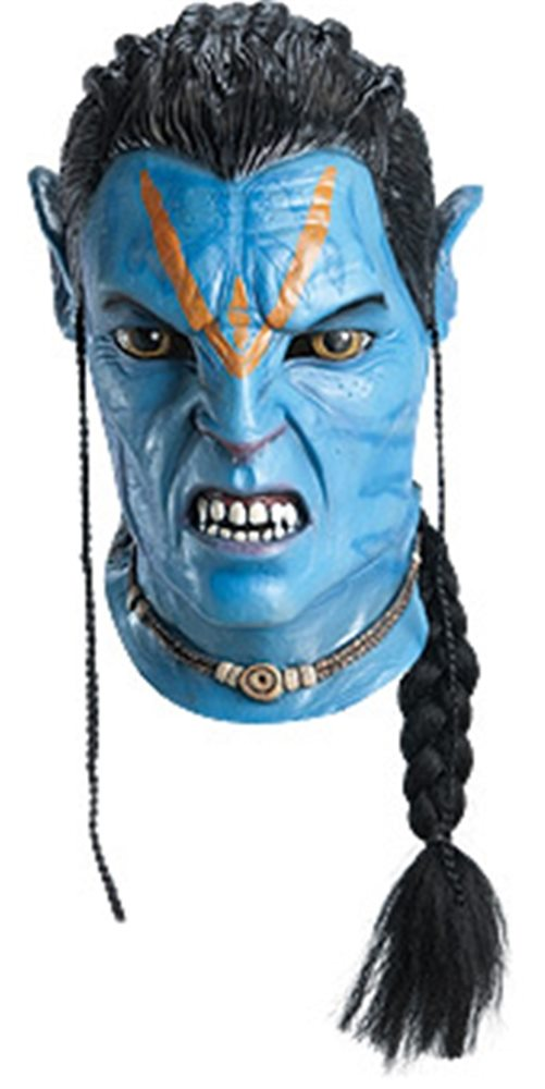 Picture of Avatar Jake Sully Overhead Latex Deluxe Adult Mask
