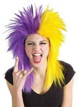 Picture of Purple And Yellow Wig