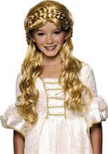Picture of Blonde Enchanted Princess Child Wig