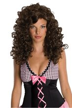 Picture of Brown Rockabilly Swish Wig