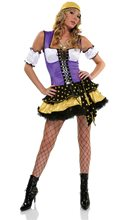 Picture of Good Fortune Gypsy Adult Womens Costume