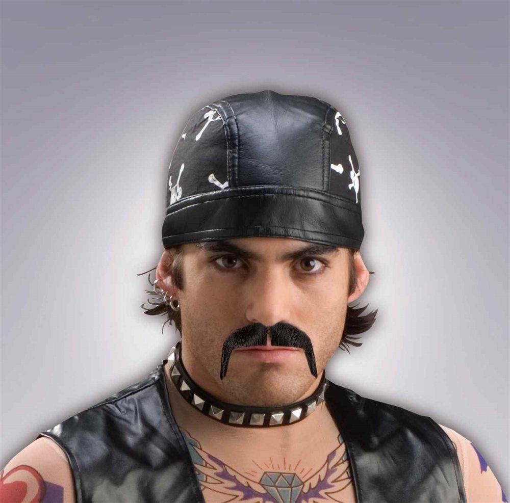 Picture of Black Biker Moustache