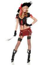 Picture of Sultry Swashbuckler Pirate Adult Womens Costume