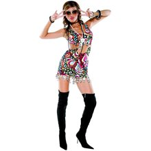 Picture of Miss Mod Retro Adult Womens Costume