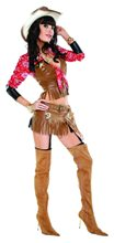 Picture of Midnight Cowgirl Costume