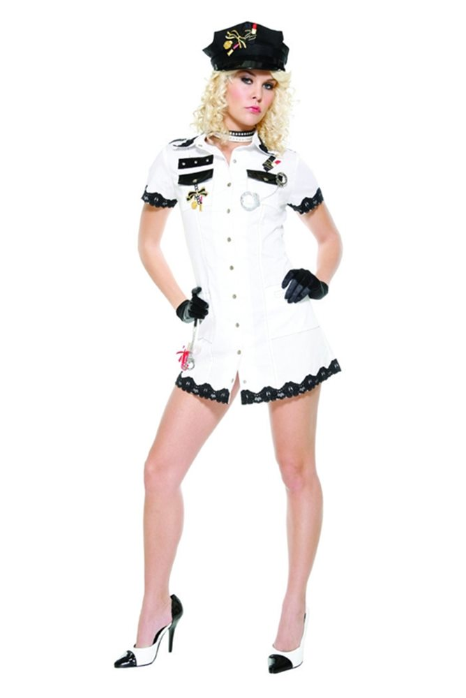 Picture of Beauty Patrol Sexy Cop Adult Womens Costume