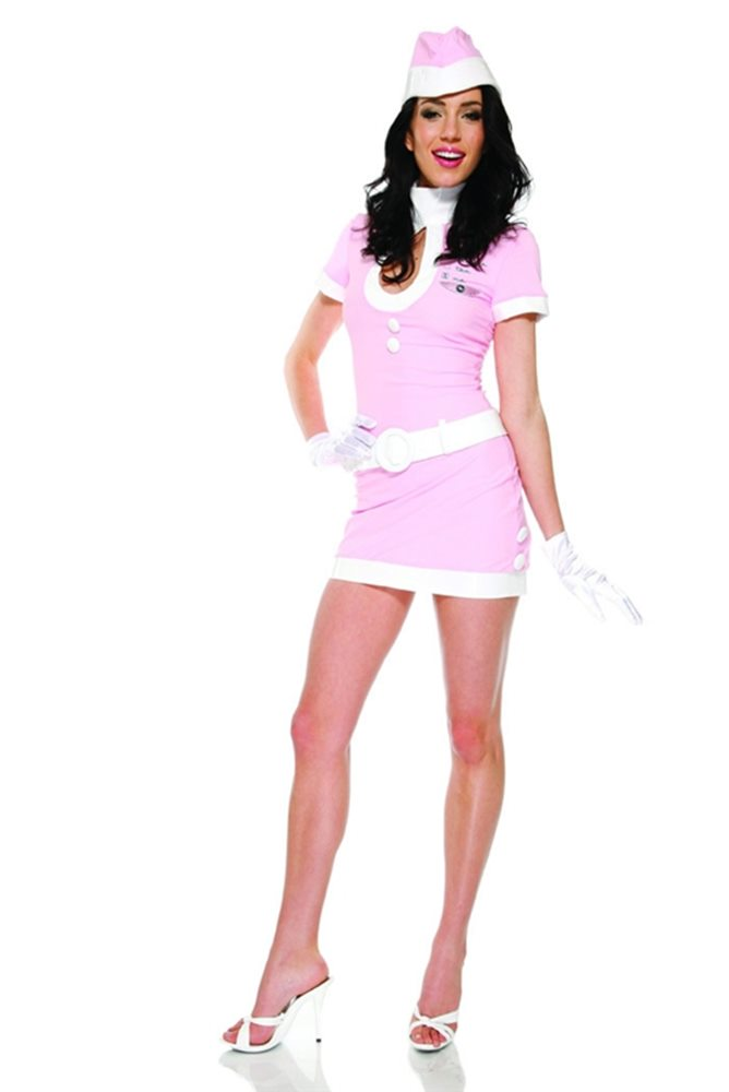 Picture of Coffee, Tea or Me Flight Attendant Sexy Adult Costume