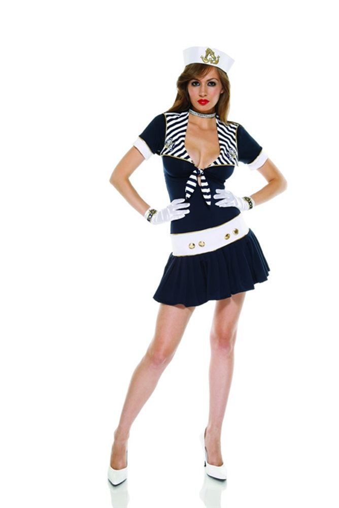 Picture of Sexy Naughty Nautical Adult Womens Costume