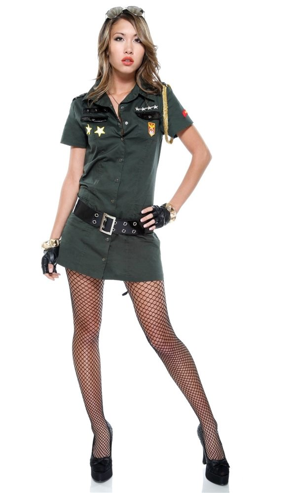 Picture of Army Seductress Adult Womens Costume