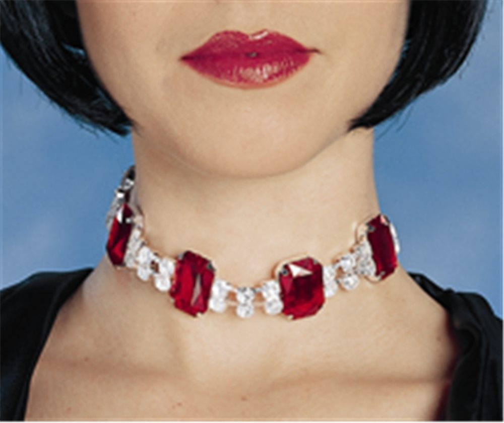 Picture of Red Gem Choker