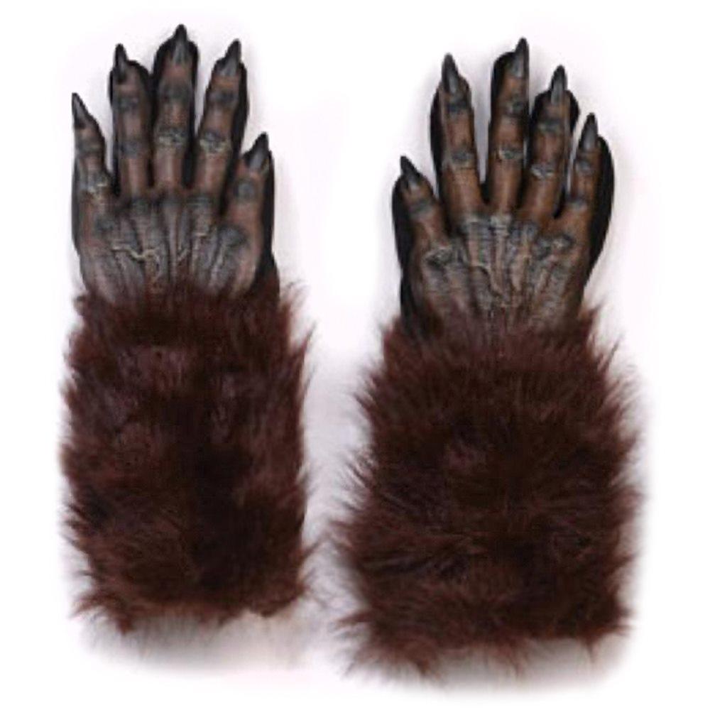 Picture of Brown Werewolf Hand Gloves