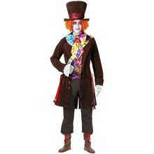 Picture of Mad Hatter Deluxe Adult Mens Costume