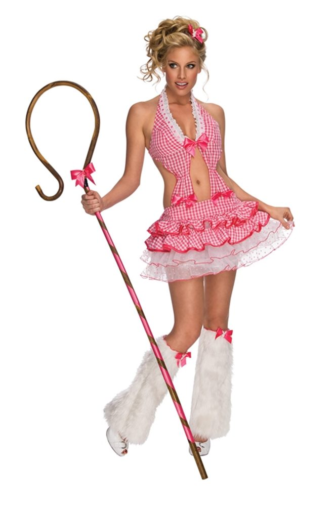 Picture of Sexy Bo Peep Shepherdess Adult Costume