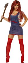 Picture of Sexy Chucky Adult Womens Costume