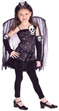Picture of Skull Fairy Child Costume