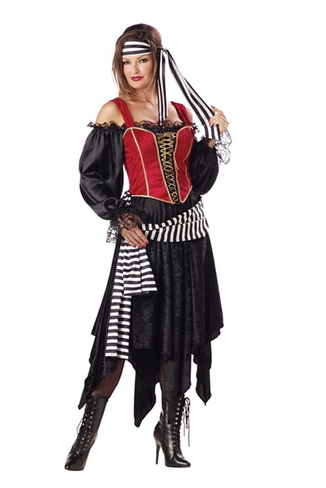 Picture of Pirate Lady Adult Womens Costume
