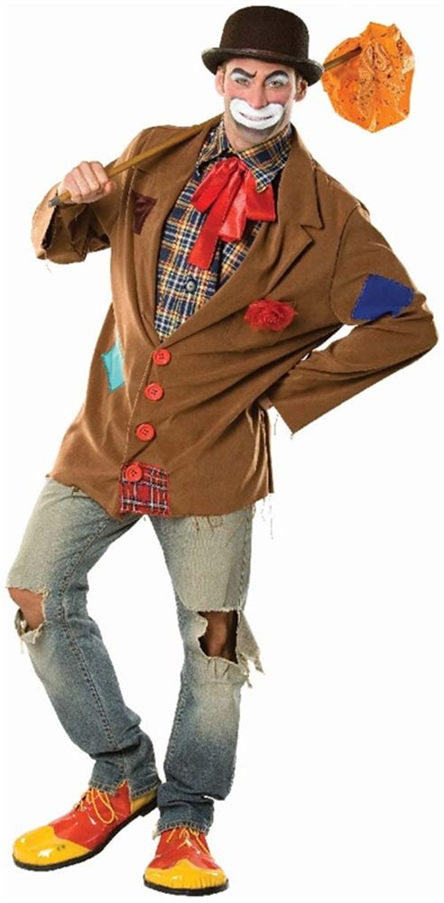 Picture of Harry the Hobo Clown Adult Mens Costume