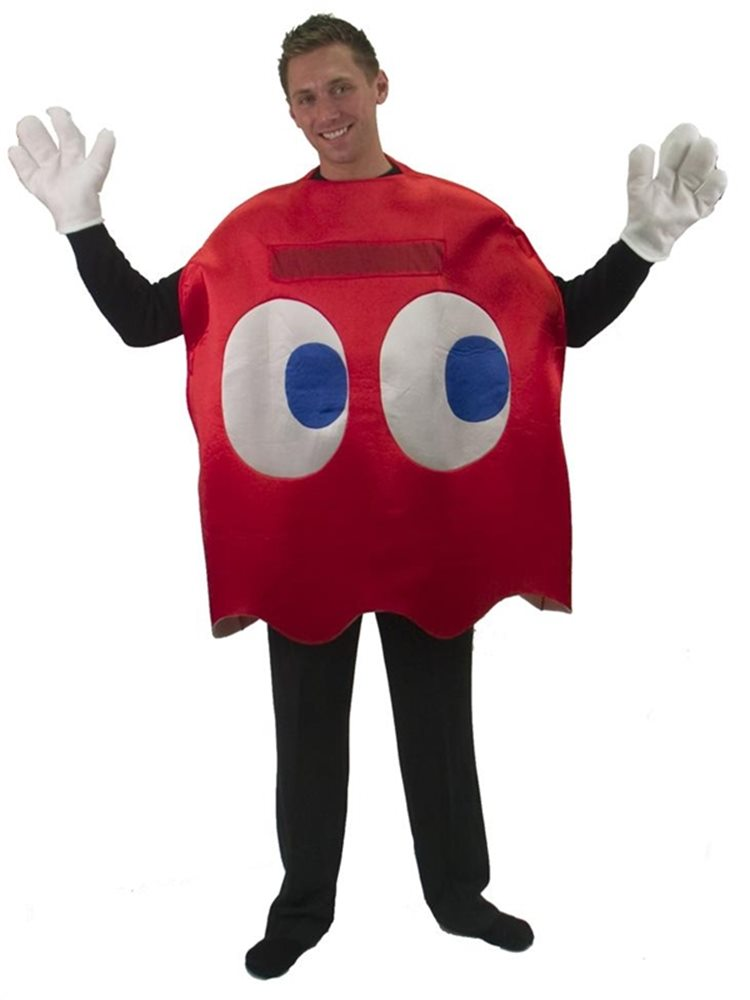 Picture of Pac-Man Blinky Deluxe Adult Costume