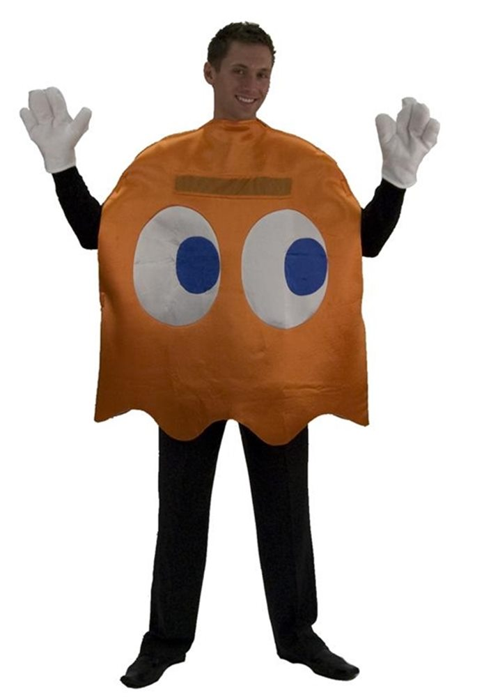 Picture of Pac-Man Clyde Deluxe Adult Costume