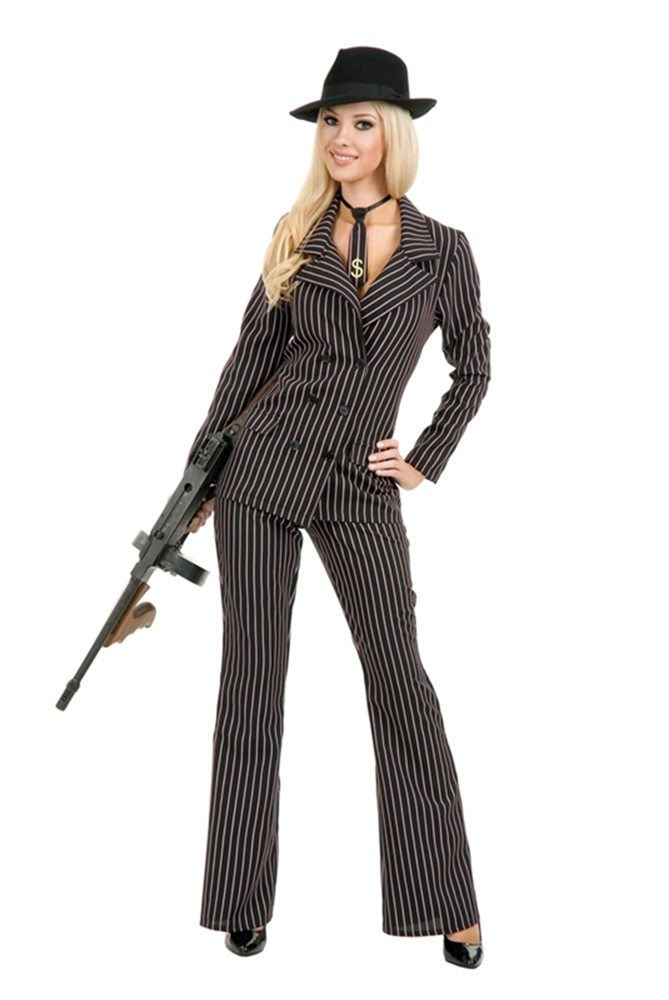 Picture of Gangster Moll Adult Womens Costume