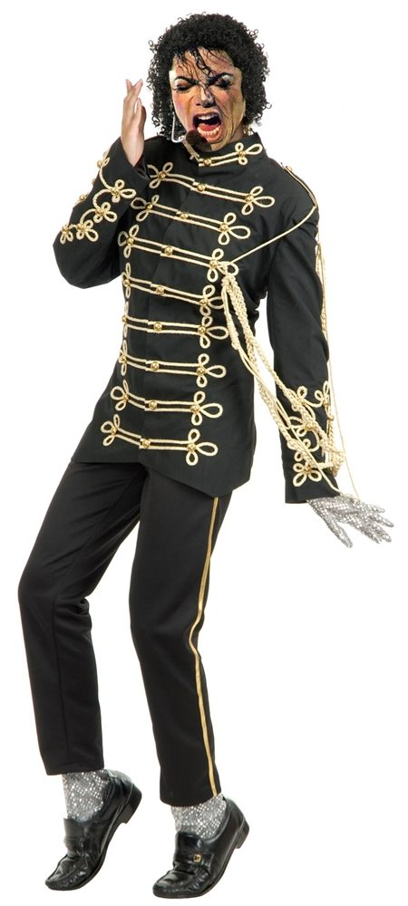 Picture of Michael Jackson Military Rocker Embroidered Jacket Adult Mens Costume