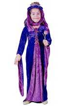 Picture of Renaissance Velvet Princess Child Costume