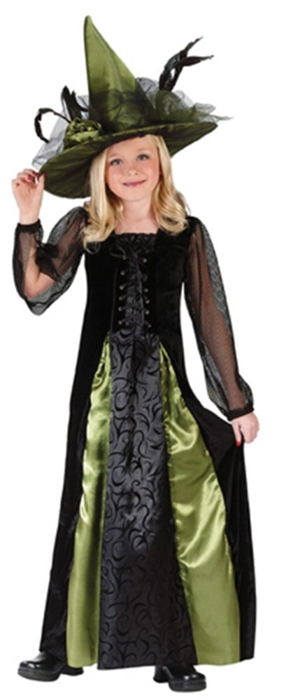 Picture of Deluxe Goth Maiden Witch Child Costume