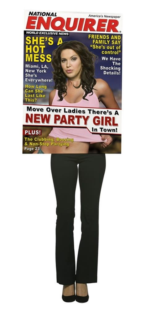 Picture of Magazine Cover Star Party Girl Adult Costume