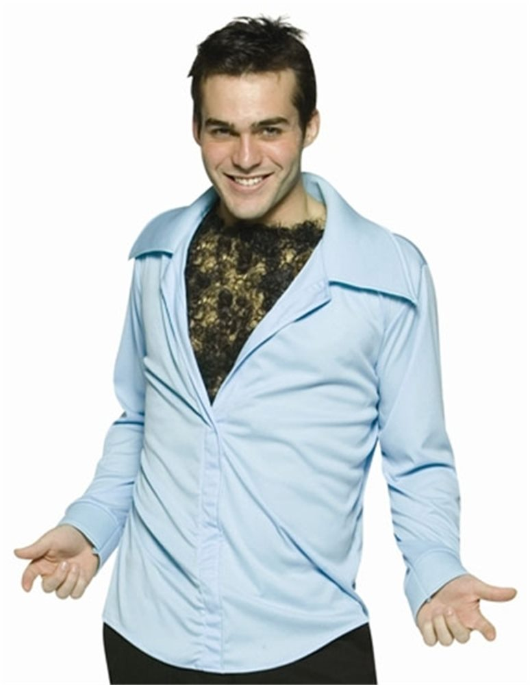 Picture of Hairy Chest Shirt Adult Costume