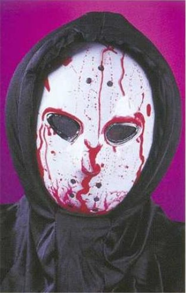 Picture of Bleeding Hockey Adult Mask