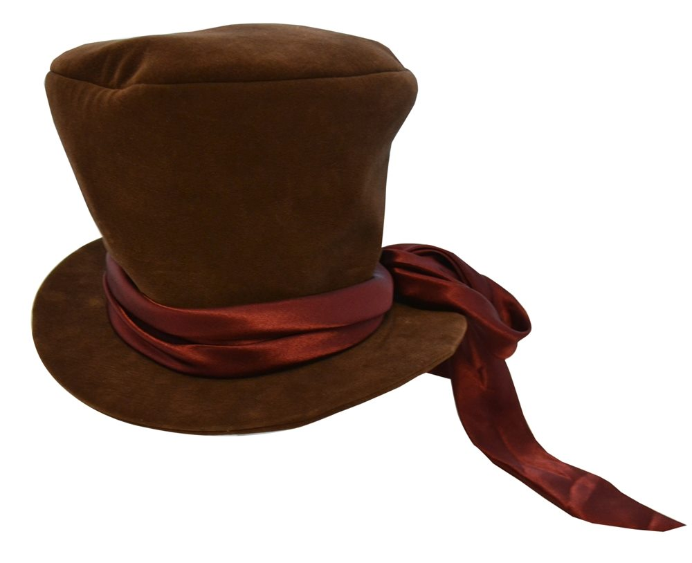 Picture of Mad Hatter Hat with Satin Bow Adult