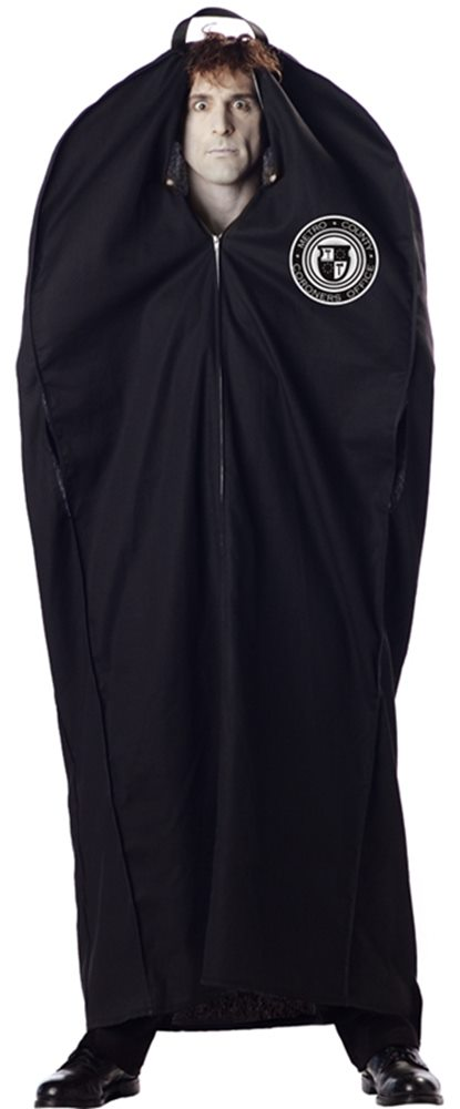 Picture of Body Bag Plus Size Adult Costume