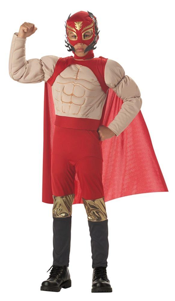 Picture of El Diablo Luchador Child Costume