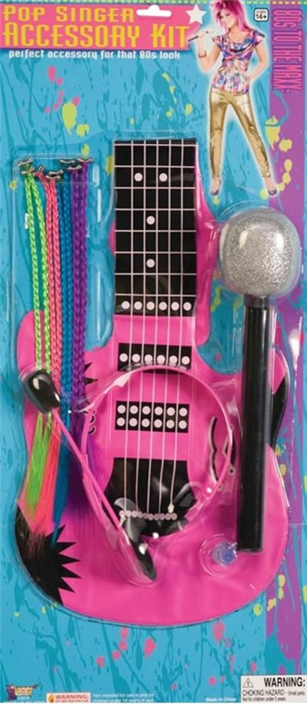 Picture of 80s Pop Singer Accessory Kit