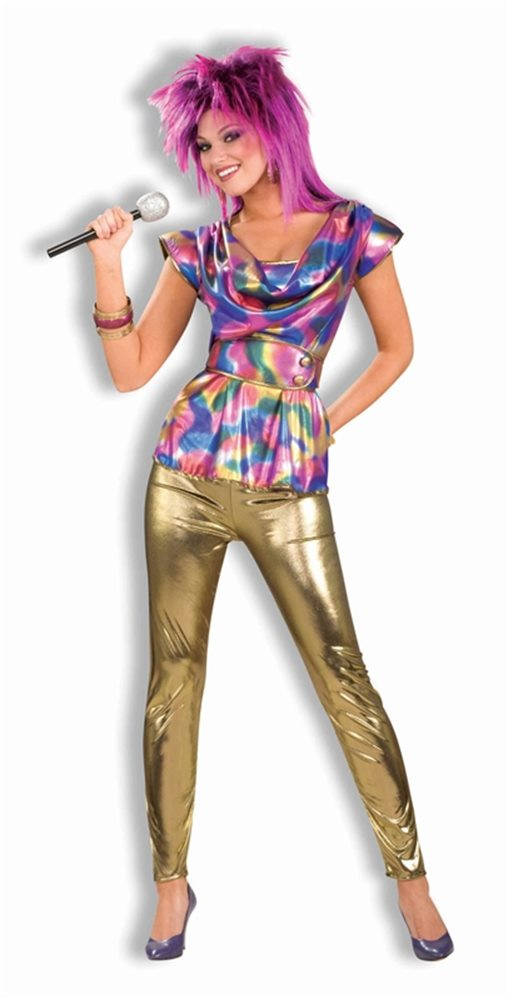 Picture of 80s Video Star Adult Costume
