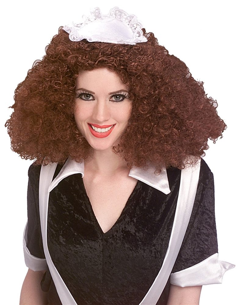 Picture of Rocky Horror Brown Magenta Adult Wig