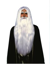 Picture of Merlin Wig and Beard