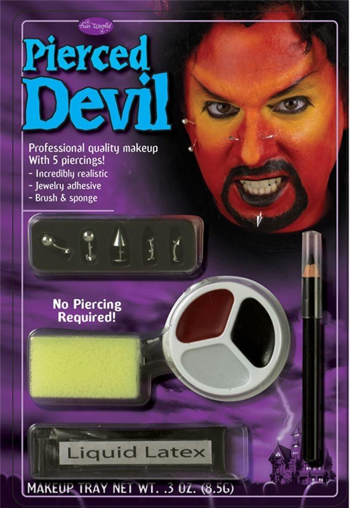 Picture of Pierced Devil Makeup