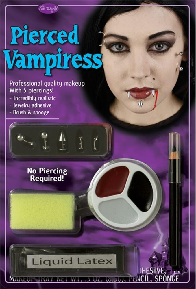 Picture of Pierced Vampiress Makeup