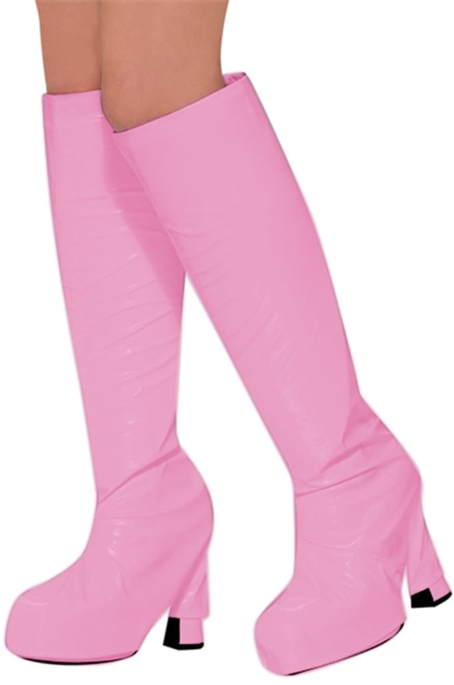 Picture of 60s Pink Go Go Boot Tops