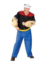 Picture of Popeye Plus Size Adult Mens Costume